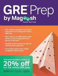 gre prep by magoosh buy gre prep by magoosh by chris lele mike