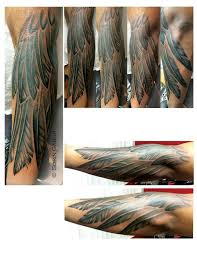sorin gabor at sugar city tattoo tattoos realistic feather