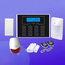 home gsm alarm system gsm pstn security system wireless burglar