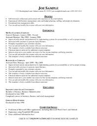Mechanical Sample Resume by Resume Resume Template Marketing Store Resume Format Mechanical