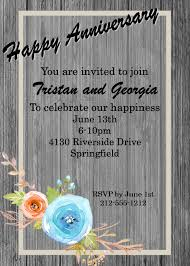 anniversary party invitations anniversary party invitations new selections 2018