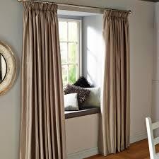 Steel Grey Curtains Villula Steel Grey Plain Faux Silk Pencil Pleat Lined Curtains W