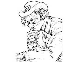 arkham asylum character coloring pages coloring pages