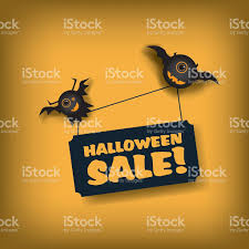 halloween sale poster template special offer promotions discounts