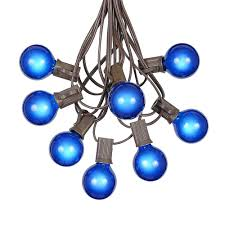 Outdoor String Lights Vintage by G40 Globe String Lights With 25 Green Globe Bulbs Use