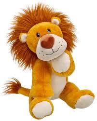 build a unstuffed new build a hearted jungle lion 15 inch stuffed plush