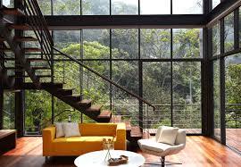 tropical interior design characteristics stylish living room
