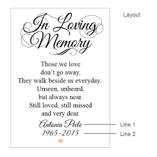 wedding memorial sign in loving memory heart personalized framed sign memorial candles
