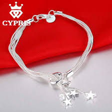 silver plated bracelet chain images Sale cypris best selling item fashion silver plated bracelet charm jpg