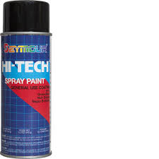 Semi Gloss Black Spray Paint Enamel Based Spray Paints U2013 Rainbow Technology