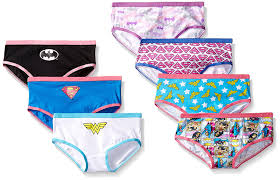 halloween underwear amazon com handcraft little girls u0027 justice league hipster