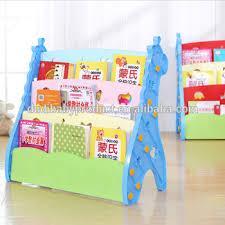 Modern Kids Bookshelf Triangle Children Modern Bookshelf Kids Plastic Colorful Bookcase