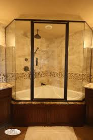best ideas about jacuzzi bathroom pinterest amazing love the setup but with lighter colors nice idea concerned would lower value making master bath tub shower combo smarter
