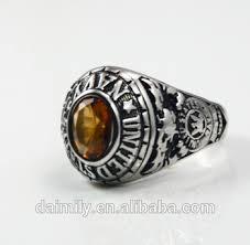 mens stainless steel rings daimily custom navy men s stainless steel rings