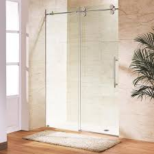 Glass For Front Door Panel by Bathroom Glass Door Frameless Sliding Glass Door Bathroom Solid