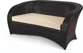 divanetti rattan divano da giardino in rattan modello arancio collection