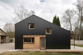 Affordable Barn Homes Low Cost Wooden Home Has All Its Plans Available For Free Curbed