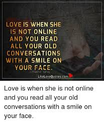 Read Me Me Me Online - love is when she is not online and you read all your old