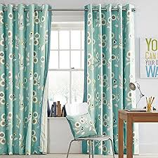 Retro Floral Curtains Next Retro Floral Curtains Eyelet Fully Lined 90x90 Inches