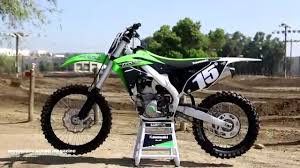 first motocross bike first ride 2015 kawasaki kx250f motocross action magazine youtube