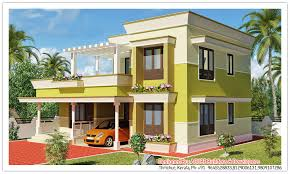 Homey Design 1 Kerala Modern House Plans And Elevations Home