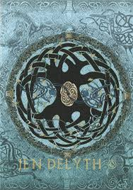 celtic tree of celtic greeting card by jen delyth celtic
