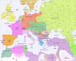 Blank Map Of Europe Quiz by Syllabus History 422