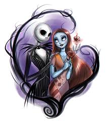 nightmare before christmas jack and sally by daekazu on deviantart