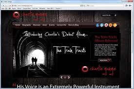 website homepage design website design charlie gange mito studios