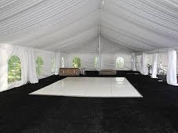 white floor rental floors rentals rental party plus