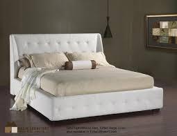 Beige Upholstered Bed Elegant Upholstered Bed Tufted Beige Linen Kiss At Home
