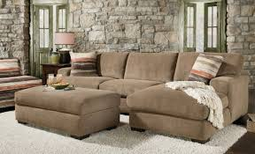 Chenille Sectional Sofa Sofa Couchwithchaise Blogspot Stunning Sectional With Ottoman
