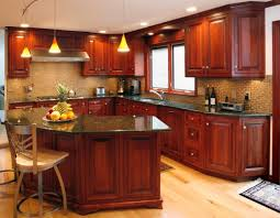 modern kitchen with cherry wood cabinets 16 kitchen cabinets made out of cherry wood