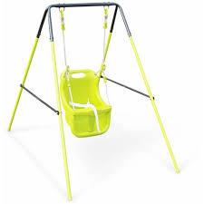 siege de balancoire pour bebe portique balançoire pour bébé farou 118cm de hauteur