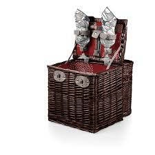 picnic baskets for two harmony vino wine picnic basket for two