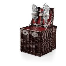 wine picnic baskets harmony vino wine picnic basket for two