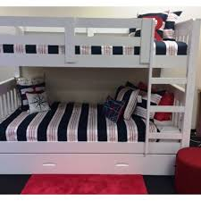 Riley King Single Bunk Inc Trundle  In Stock Ready To Ship  Out - King single bunk beds