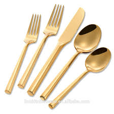 list manufacturers of stainless steel flatware set gold buy