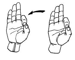 french fries american sign language asl clip art library