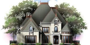 chateauesque house plans castle floor plans archival designs
