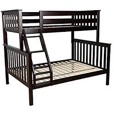 Amazoncom DHP TwinOverFull Bunk Bed With Metal Frame And - Full and twin bunk bed