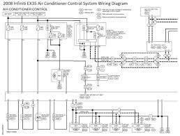 infiniti ex35 air conditioner control system wiring diagram