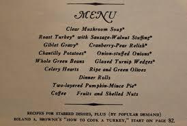 jen but never jenn american thanksgiving 1940s 1950s 1960s