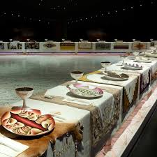 judy chicago dinner table we need judy chicago s dinner party now more than ever garage