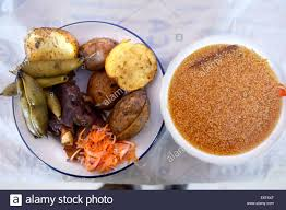 cuisine haba traditional andean cuisine quinoa soup and a dish with potatoes