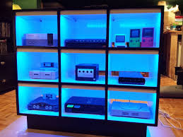 console gaming shelf consoles organizing and shelves