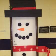 snowman door decorations 5 festive door displays for christmas winter