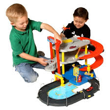 maisto parking garage toy vehicle playsets target