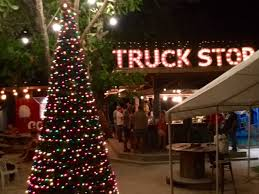 Christmas Tree Stop - a very truck stop christmas u2026 u2026 bound for belize
