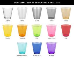 clear plastic cups for wedding plastic cups etsy